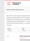 Resources on Market-based Approaches - overview