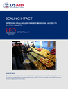 USAID (2015) Scaling Impact: Improving smallholder farmers access to Output Markets  - overview