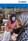 UNHCR (2016) Cash Based Interventions for WASH Programmes in Refugee Settings - overview