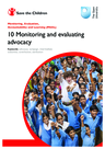 Save the Children (2011) Monitoring and Evaluating Advocacy - overview