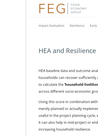 FEG (2016) Using Household Economy Approach to measure resilience  - overview