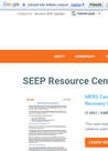SEEP (2019) Resource Center - overview