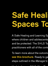 IRC (2016) Safe Healing and Learning Spaces Toolkit - overview