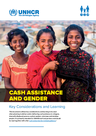 UNHCR (2018) Cash Assistance and Gender: Key Considerations and Learning - overview