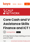 CaLP (2019) Course: Core CTP Skills for Supply Chain, Finance & ICT Staff - overview