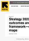 IRC (2016) Strategy 2020: the outcomes and evidence framework - evidence maps - overview