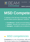 Beam Exchange: MSD Competency Framework - overview