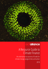 ACT Alliance (2018) A Resource Guide to Climate Finance - overview