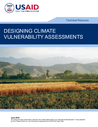 USAID (2018) Designing Climate Vulnerability Assessments - overview