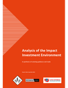PIN (2020) Analysis of the Impact Investment Environment - overview