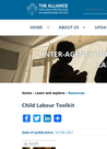 The Alliance for Child Protection in Humanitarian Action (2020) Child Labour Toolkit - overview